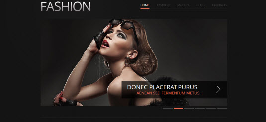 Free Drupal theme: Fashion