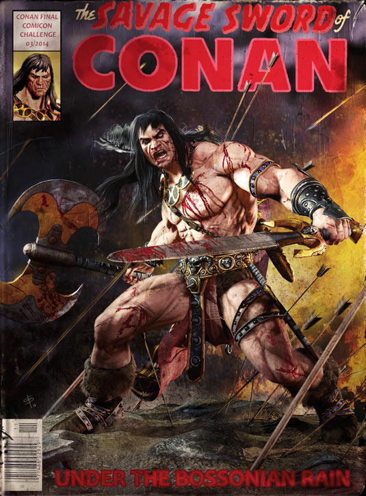 Conan comic book cover
