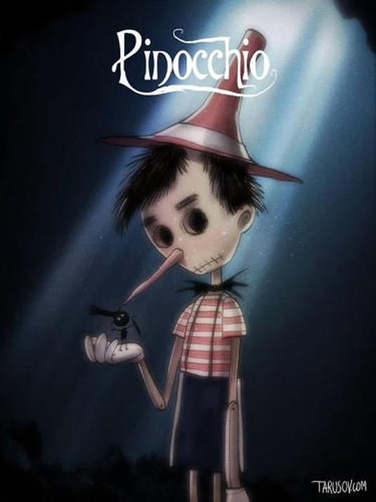 Disney films Tim Burton style: Pinocchio