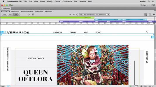 Websites using dreamweaver?
