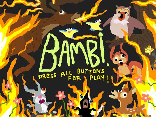 8-Bit interpretation of Bambi