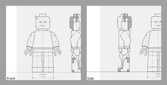 Create Your Own 3d Lego Superhero Creative Bloq