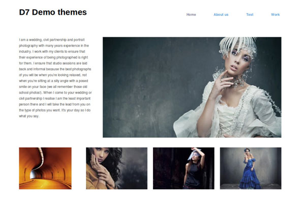 Drupal themes - Hatch