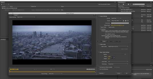 Premiere Pro Media encoder