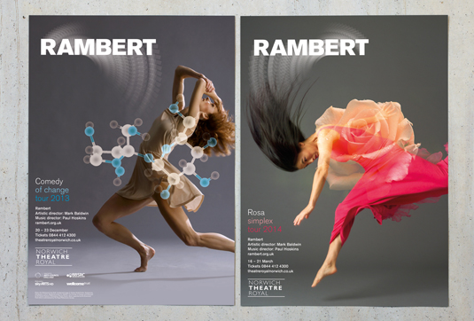 Rambert, by hat-trick design