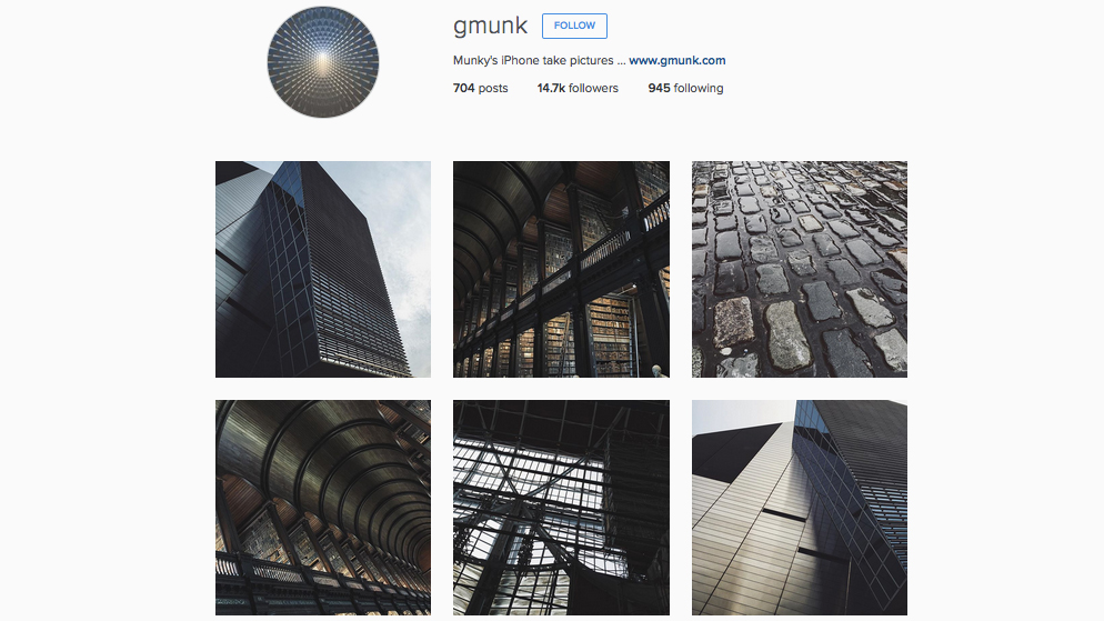 Graphic designers to follow on Instagram: Gmunk