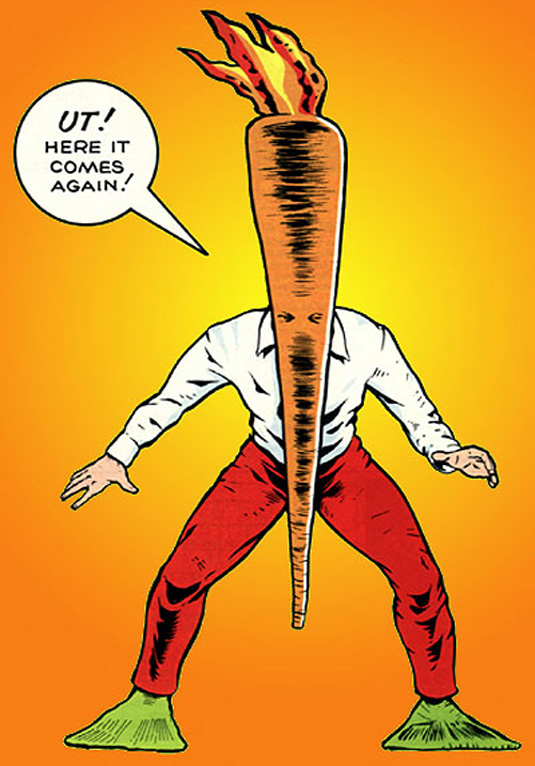 Comic book characters: The Flaming Carrot