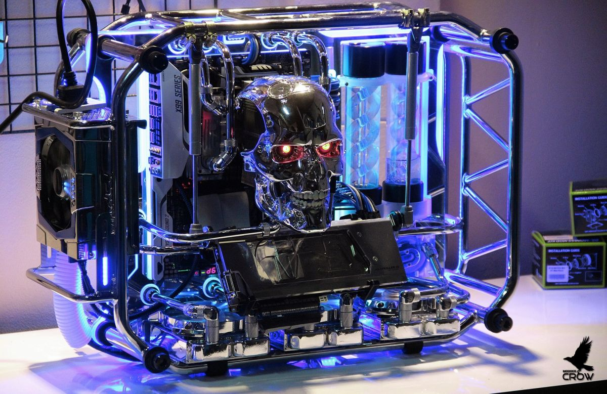 Build Of The Week In Win D Frame Terminator Pc Gamer