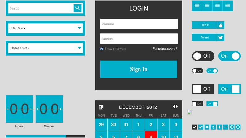 11 great free ui kits for web designers creative bloq - Android Ui Maker