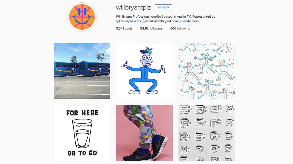Graphic designers to follow on Instagram: Will Bryant