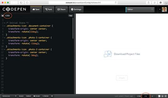 Creating CSS declarations