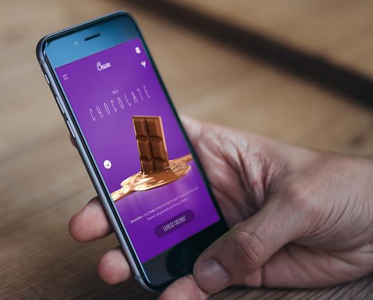 Crave app menu