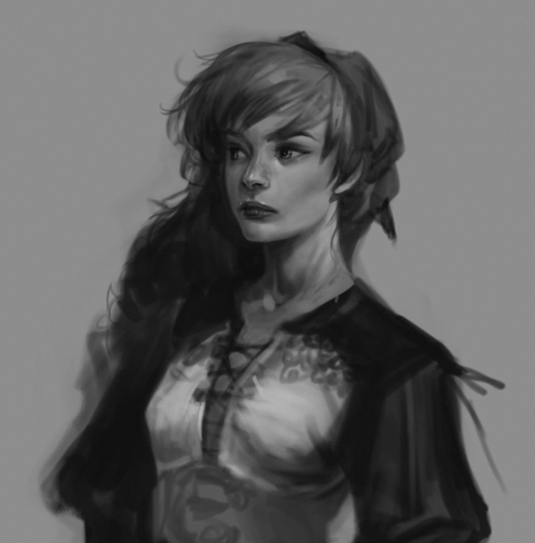 How painting in black & white can change your art for the better