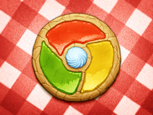Browser Cookie Google Chrome logo redesign