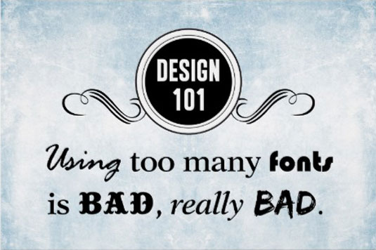 Common mistakes designers make