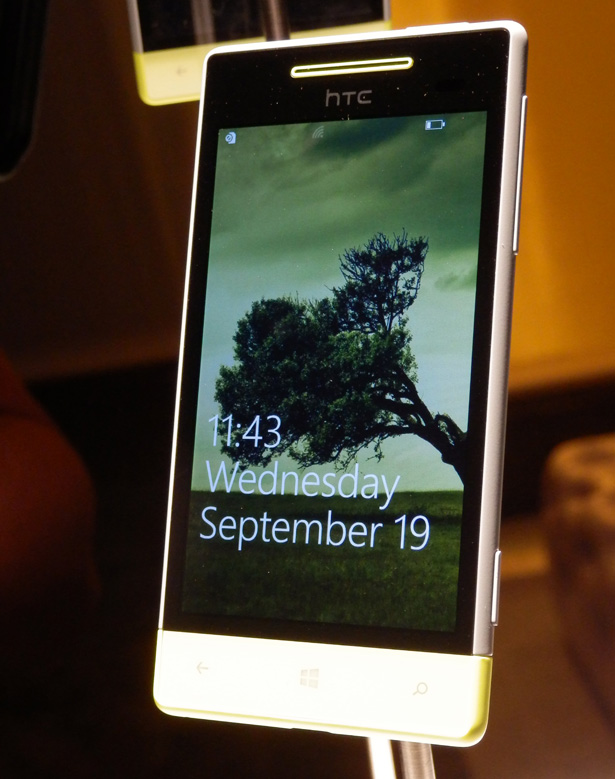 Windows Phone 8 close up