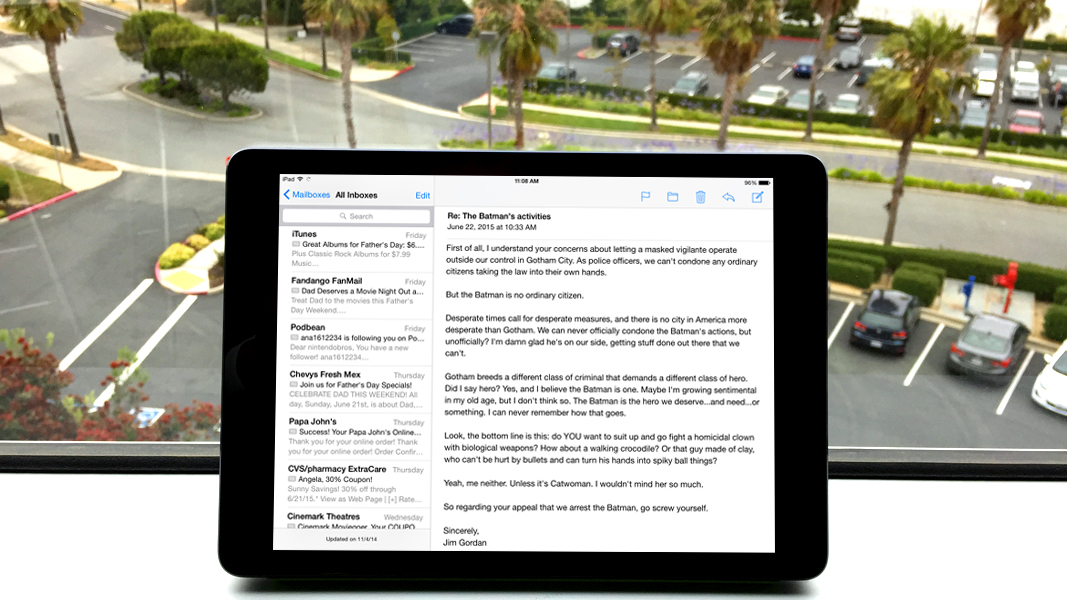 How to delete all email in ios 9 techradar ccuart Choice Image