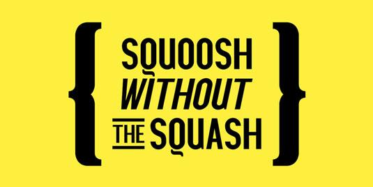 Squoosh Gothic font