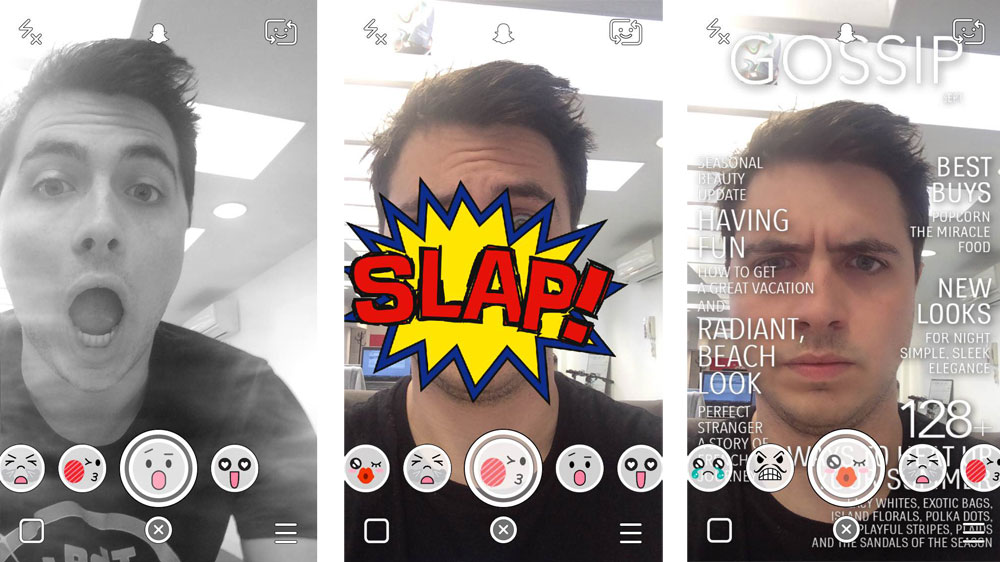 Snapchat Selfie Lenses Not Working on iPhone 4s, iPhone 4 and iPad ...