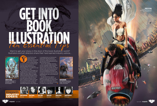 Break into book illustration with ImagineFX's new issue