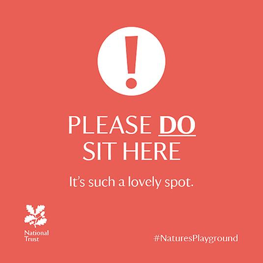 The National Trust branding