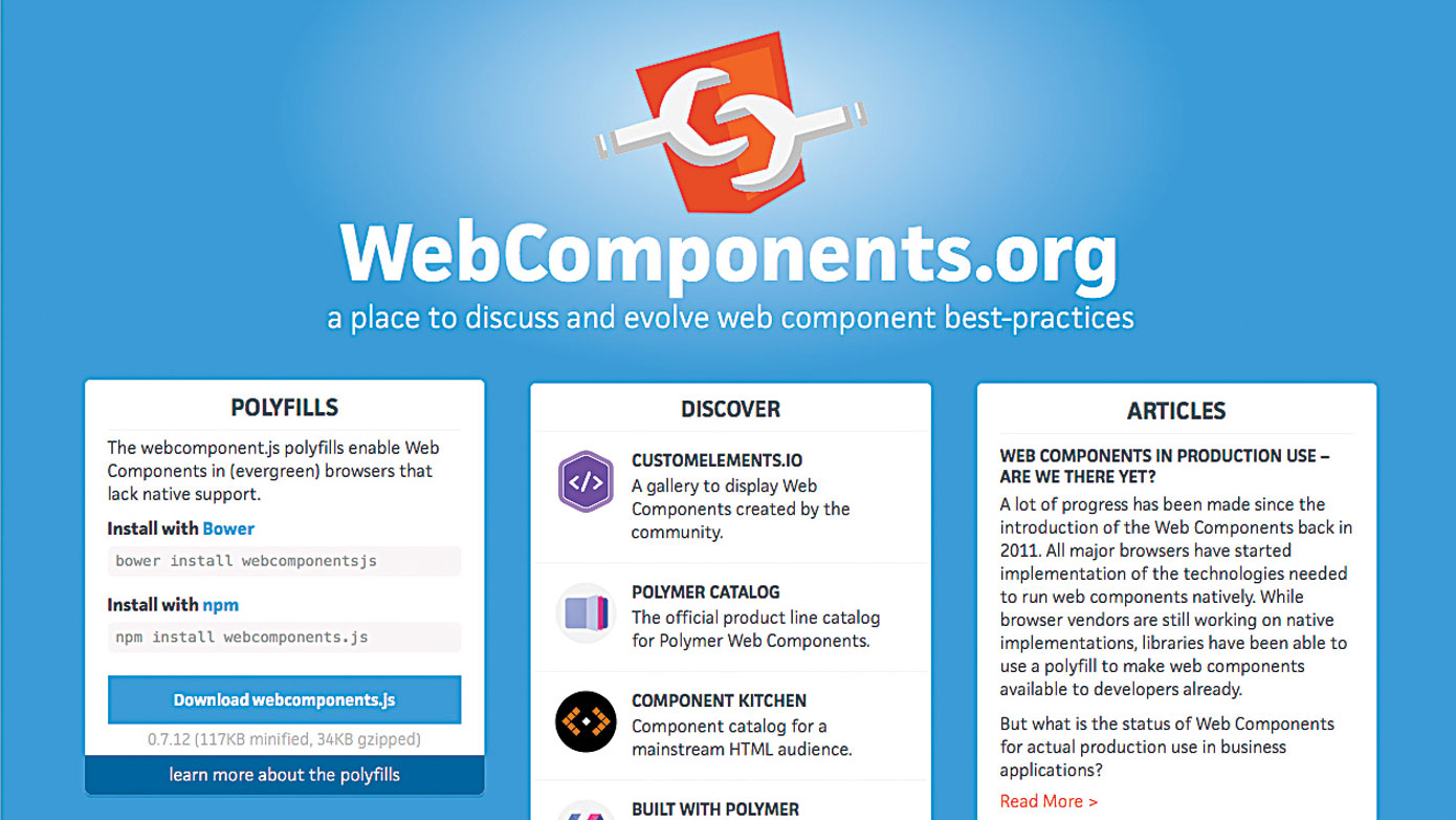 New skills in web design - APIs