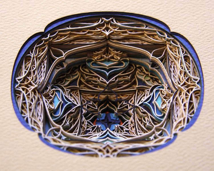 Eric Standley paper art