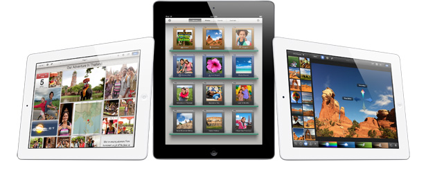 iPad with iPhoto for iOS, March 2012