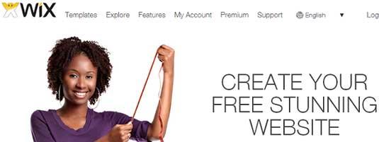 Website builder: Wix