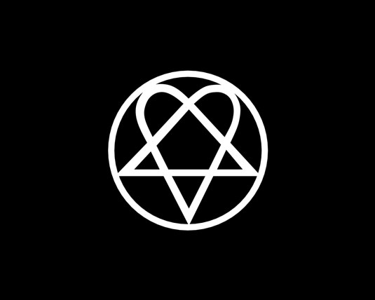 Band logo designs - HIM