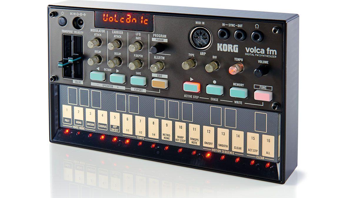 korg volca fm synthesizer review musicradar. Black Bedroom Furniture Sets. Home Design Ideas