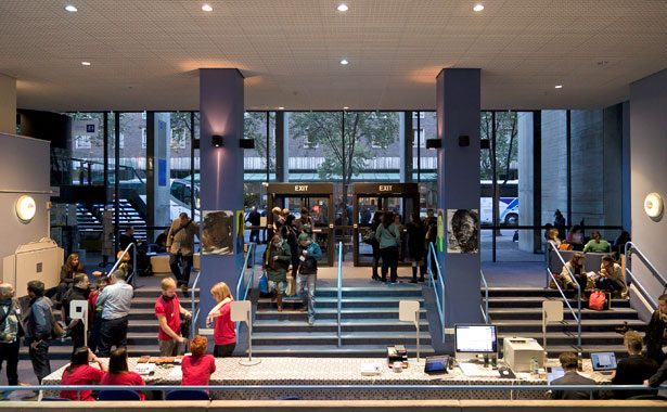 A picture of the Entrance to Typo London 2011 by Gerhard Kassner