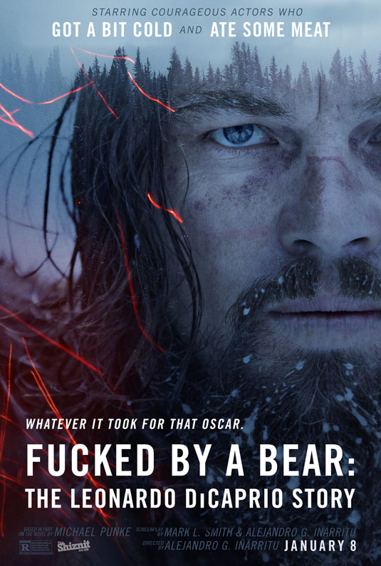 Oscars posters - Fucked By a Bear