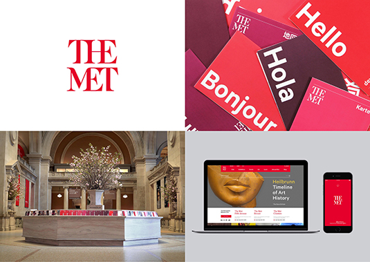 Brand Impact Awards - The Met, by Wolff Olins