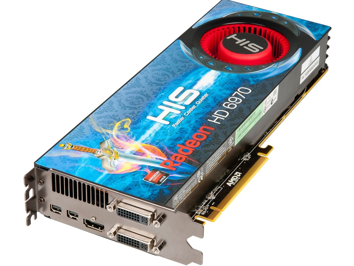 Amd Radeon Hd 6970 And Hd 6950 Official: HIS Unveils Radeon 6950, 6970 Graphics Cards