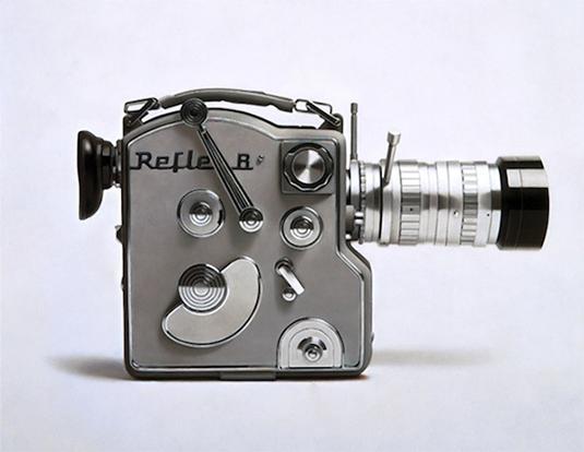Vintage gadgets photorealistic