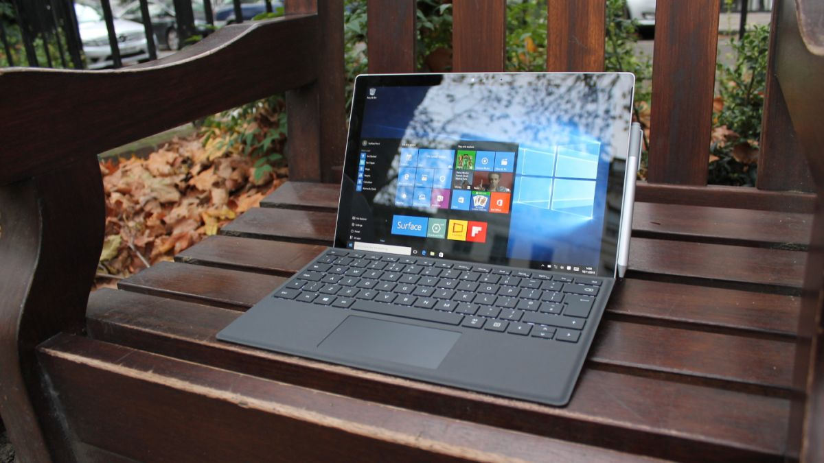 microsoft surface pro 4 review techradar. Black Bedroom Furniture Sets. Home Design Ideas