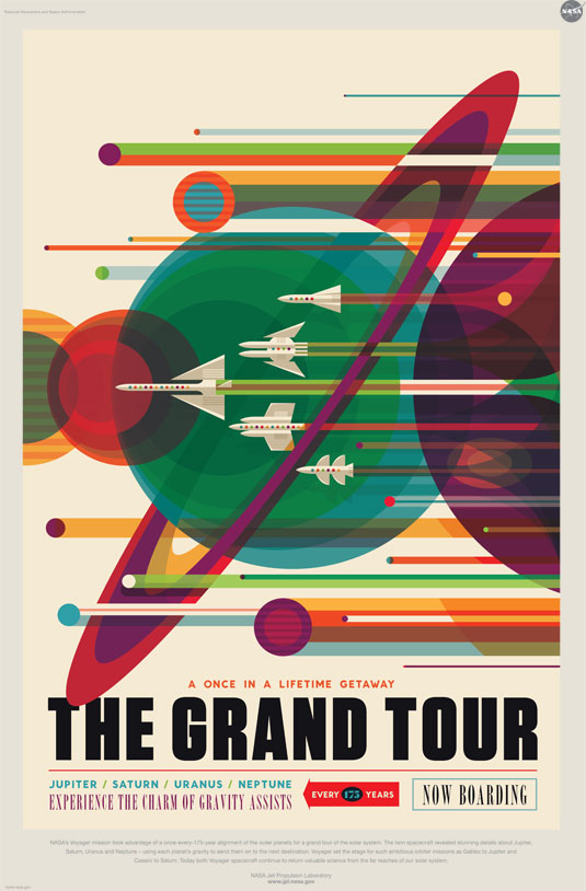 NASA Posters - The Grand Tour