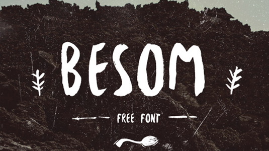 Font of the day: Besom