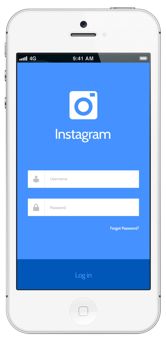Instagram redesign concept 2