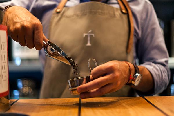 Tomas tea branding