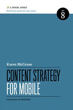 Web design books: Content Strategy