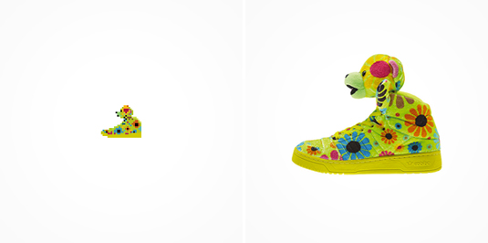 8-bit sneakers