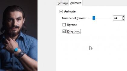 iWarp for GIMP - animation