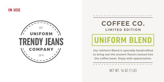 Uniform font