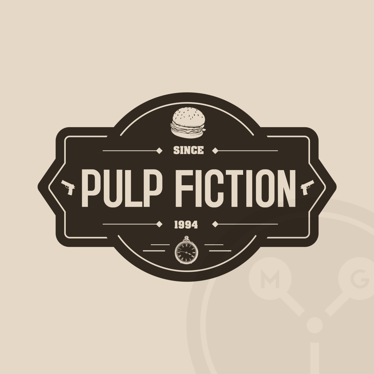 Top Films And Tv Shows Get A Hipster Logo Creative Bloq