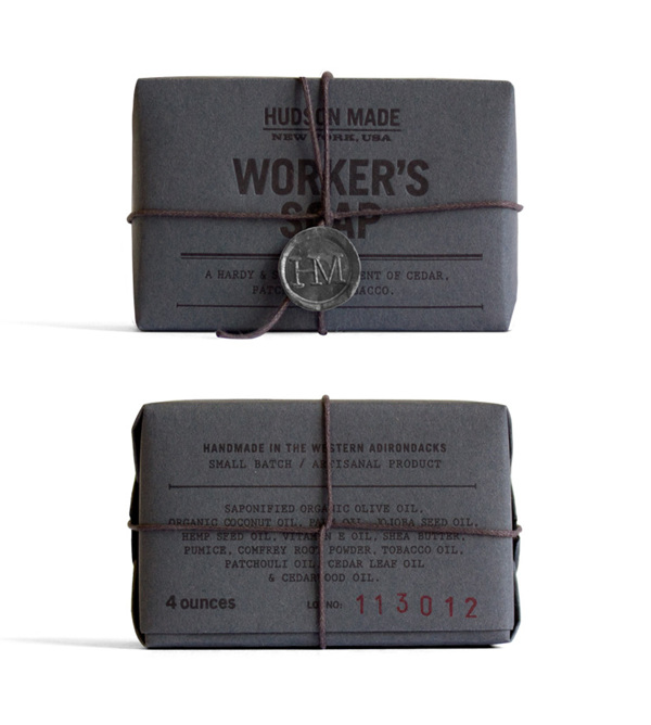 Hudson Made Worker's Soap