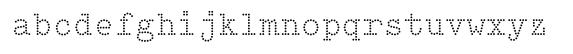 typewriter typefaces: Intimo Two