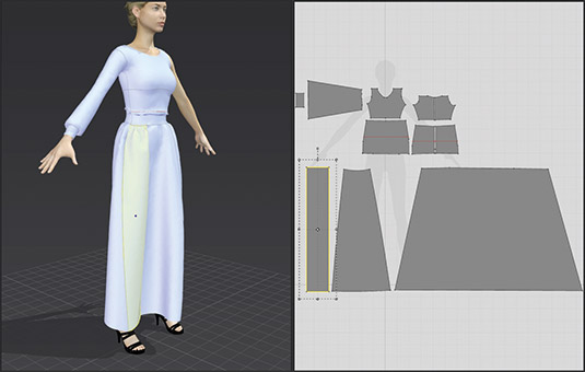 How to create 3D clothes