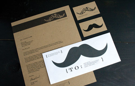 Letterhead designs: Masters of Disguise
